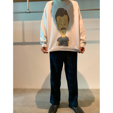 """Stussy×Beavis and Butt-Head"" プリントスウェット"