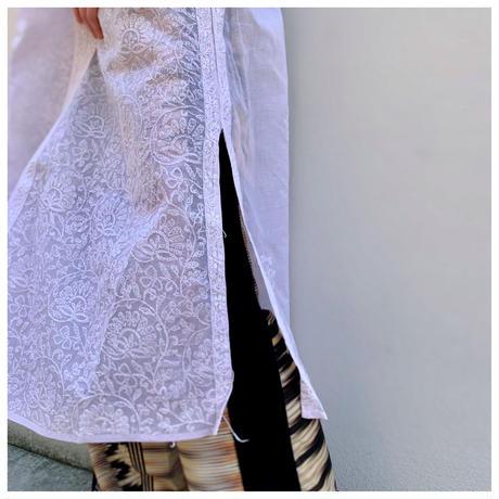 1980s 刺繍カフタンドレス