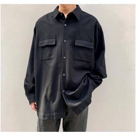 """1990s """"Eddie Bauer"""" オーバーサイズウールシャツ"""