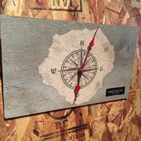 "Wall Clock ""Compass"""