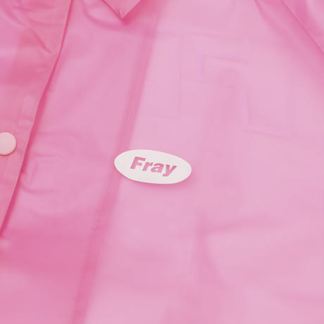 【Fray】FRESH COACH JACKET-PINK