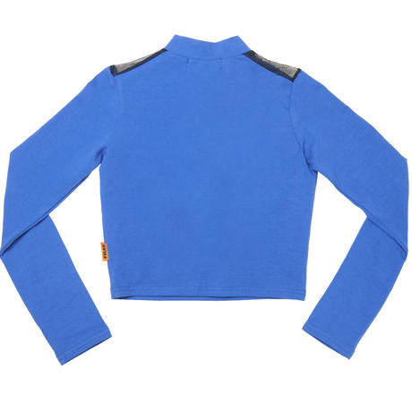 【Fray】FRAY LONG SLEEVE TOP Cobalt Blue