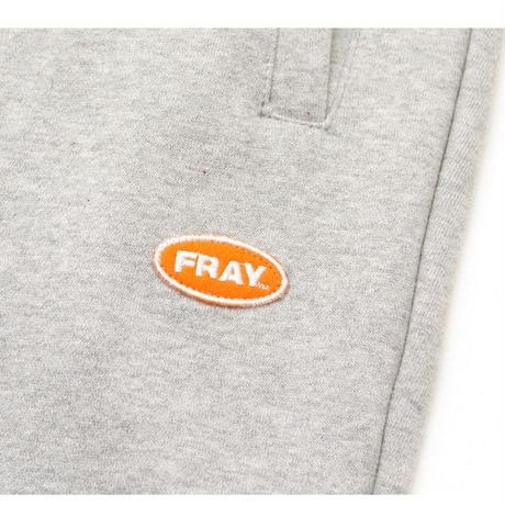【Fray】LOGO BASIC SWEAT PANTS GRAY