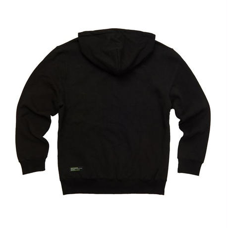 【Fray】I AM FRESH FULLOVER HOODIE BLACK