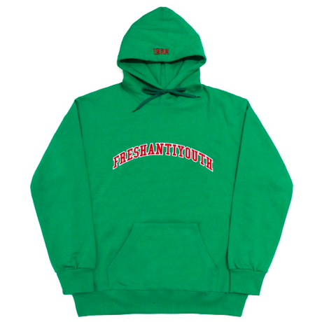 1998 College Hood Sweater – Green