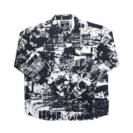 【IMXHB】TORN PICTURES ALL PRINT SHIRTS - O/C