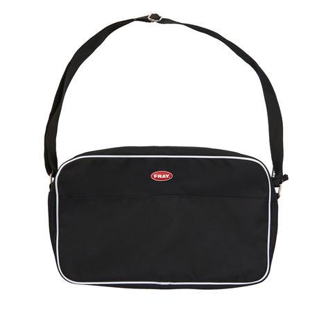 【Fray】FRAY PIPNG SHOLDER BAG BLACK