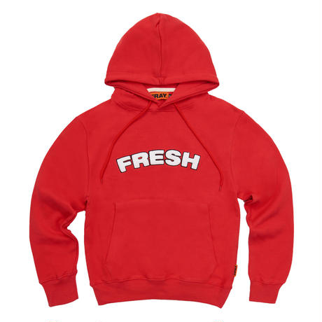 【Fray】FRESH HOODIE RED