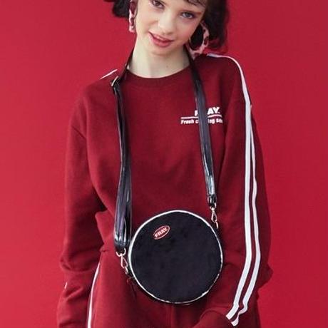 【Fray】FRAY CIRCLE PIPNG BAG BLACK