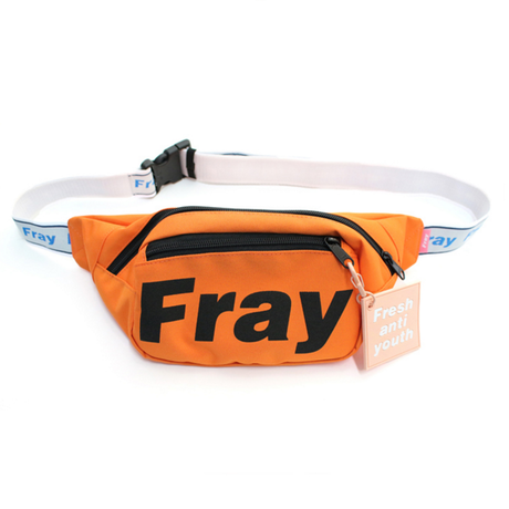 Logo Waist Bag – Orange