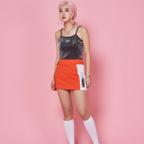【Fray】FRAY SLEEVELESS CROP TOP SLIVER