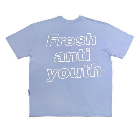 【Fray】I am Fresh T-SHIRTS DUST BLUE
