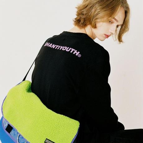 【Fray】ANTI MESSENGER BAG GREEN