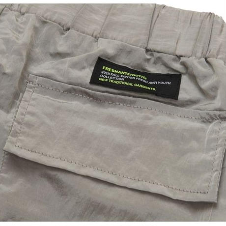 【Fray】STRING WARM UP PANTS GRAY