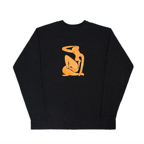 【easy busy】Henri Matisse Longsleeve T-Shirts 2 – Black