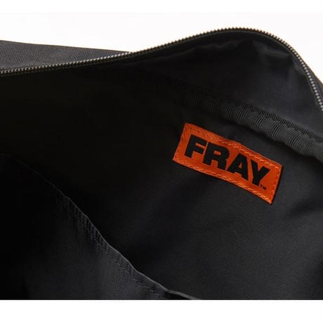 【Fray】FRAY PIPNG SHOLDER BAG BLACK