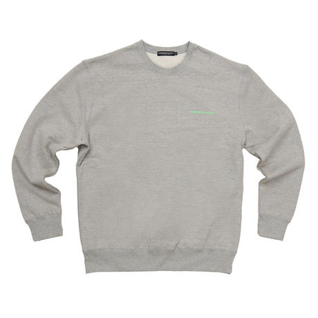 【Fray】FRESH ANTI YOUTH  CREWNECK SWEATER GRAY