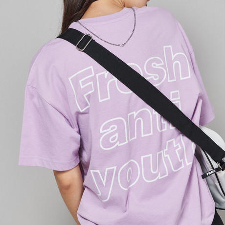 【Fray】I am Fresh T-SHIRTS PEACH