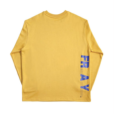【FRAY】OVAL LOGO LONG SLEEVE - MUSTARD