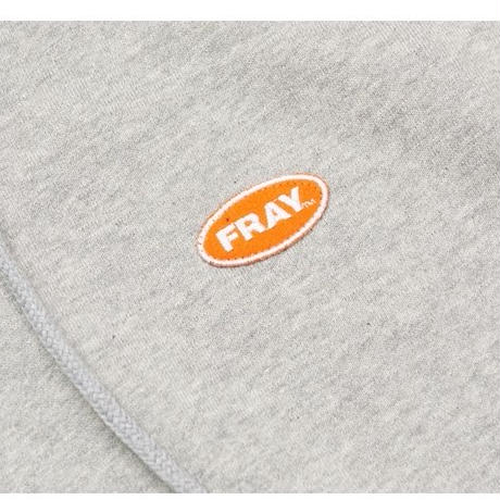 【Fray】LOGO PULLOVER HOODIE GRAY