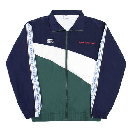 Wave Track-Jacket – Navy