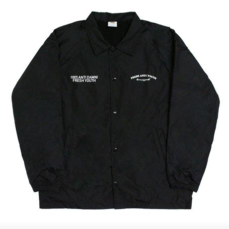 Fray Coach-Jacket – Black