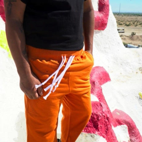 【easy busy】Capri Training Pants – Orange