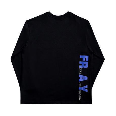 【FRAY】OVAL LOGO LONG SLEEVE - BLACK