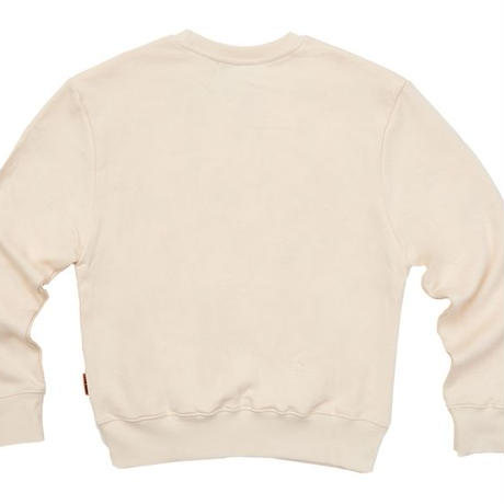 【Fray】LOGO CREWNECK SWEATER IVORY