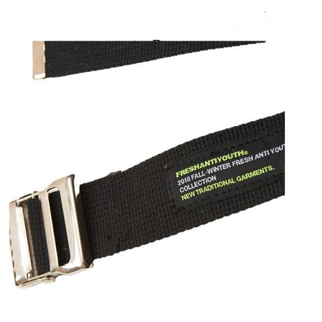【Fray】ANTI WEBBING BELT BLACK