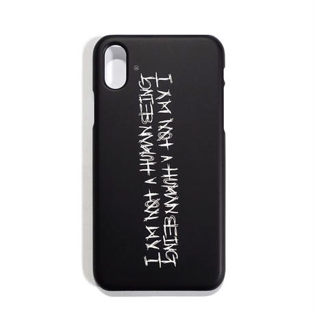 【IMXHB】PHONE CASE ( IPHONE X) - BLACK