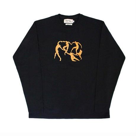 【easy busy】Henri Matisse Longsleeve T-Shirts 3 – Black