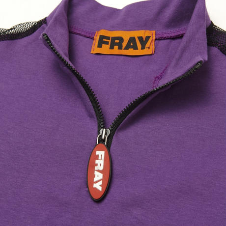 【Fray】FRAY LONG SLEEVE TOP PURPLE