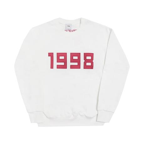 1998-Crewneck Sweater – White