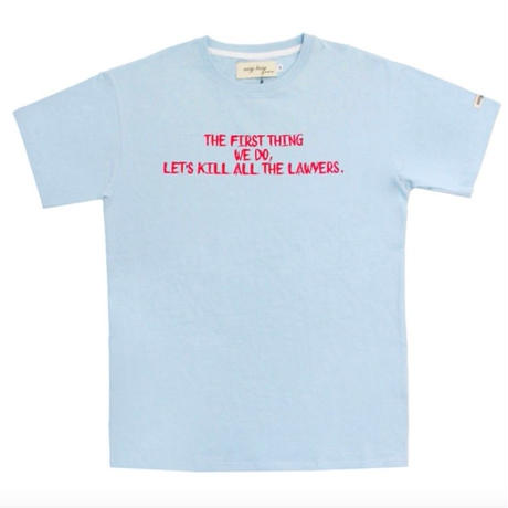 【easy busy】Lawer T-Shirts – Sky Blue