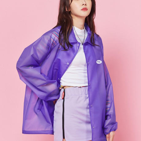 【Fray】FRESH COACH JACKET-PURPLE