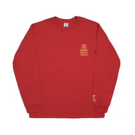 Anti Damn-Long Sleeve – Red