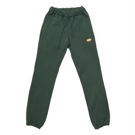 【Fray】LOGO BASIC SWEAT PANTS GREEN