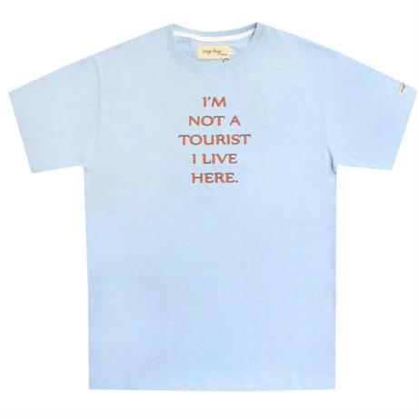 【easy busy】Tourist T-Shirts – Sky Blue