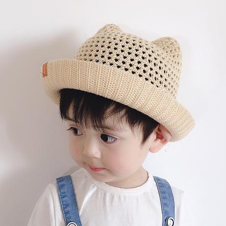 【即納】ネコ耳帽子 ベビー服・子供服