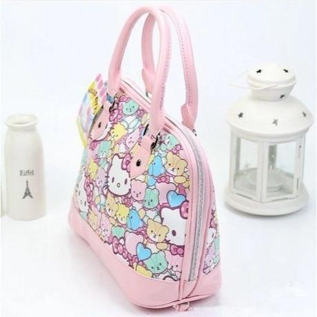 海外 ブランド 人気 ハンドバック ハローキティ レディース 女の子 可愛い ショッピング 可愛い キレイ ピンク おしゃれ 収納 カジュアルファッション