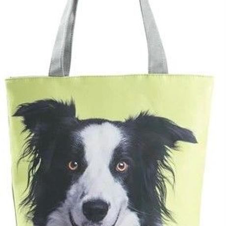 海外ブランド トートバック 大容量 ショッピングバック キャンバス 犬 レディース 海外輸入品 犬1