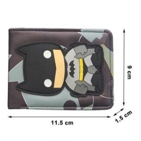 4Color 海外ブランド 人気  マーベル「折りたたみ 財布 レディース キッズ」 可愛い 安い レザー カジュアル ヒーロー メンズ デッドプール スパイダーマン アイアンマン  W-  201