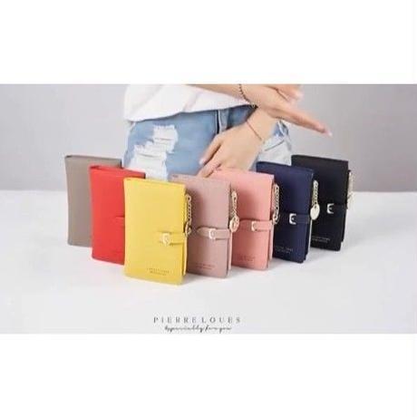 5Collar 海外 ブランド 人気   小さめ 折りたたみ 財布 長財布 可愛い シンプル 使いやすい 20代 30代 安い ランキング 主婦  コーデ 上品 レディース