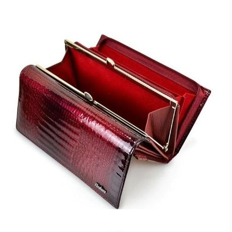 6Color 海外 ブランド 人気 財布 レディース ワニ型押し 豪華 本革 革 シンプル 使いやすい キレイ レザー コーデ シンプルな財布 おしゃれ おすすめ  クラッチ