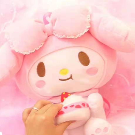 2 Color 海外 ブランド 人気 リュック レディース ( 48cm) 女の子 バックパック 可愛い ぬいぐるみ ハローキティ マイメロディ プリンセス ケーキ バックパック女子 キャラクター