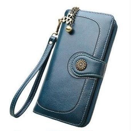 6Color 海外 ブランド 人気 長財布 クローバー レディース シンプル 使いやすい キレイ レザー 安い プチプラ コーデ 可愛い財布 シンプルな財布 おしゃれ おすすめ