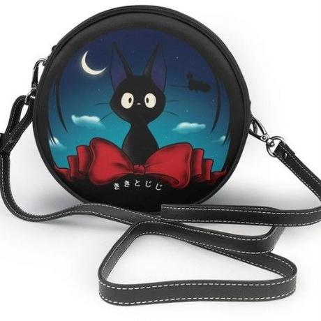 5Color 海外ブランド 人気  オシャレ 可愛い 魔女の宅急便 ショルダーバック 黒ネコ キキ レディース キッズ ジブリ 可愛い 使いやすい 安い バック B-1974