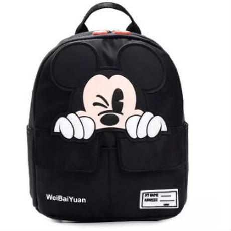 3Color 海外ブランド 人気  可愛い バックパック 可愛い キッズ ミッキーマウス カジュアル 使いやすい 習い事 通学 通園 リュック ディズニー バック B2202