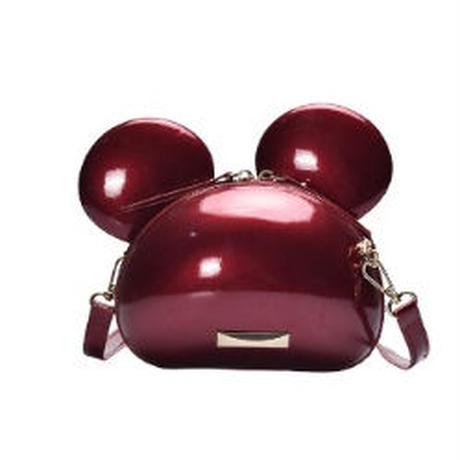 3Color 海外ブランド 人気  オシャレ 可愛い ミッキーマウス ショルダーバッグ レディース 大人可愛い フェミニン パンク 使いやすい 安い バック レザー キレイ B-  2012